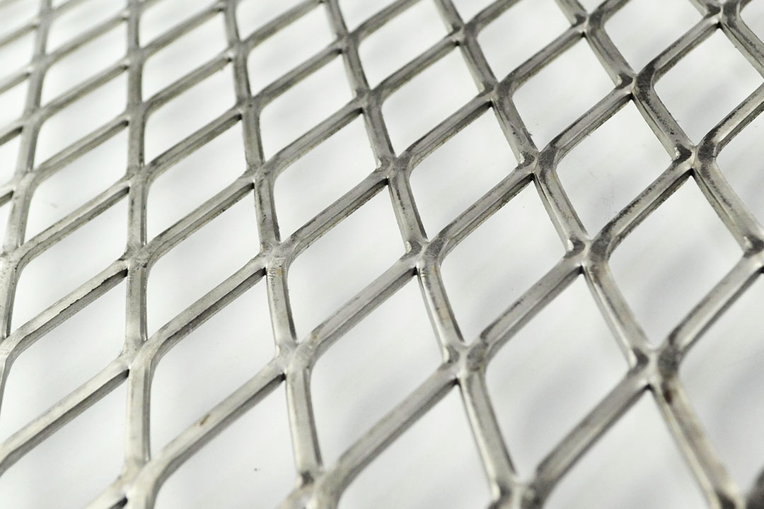 304 stainless steel flattened expanded metal sheet mesh
