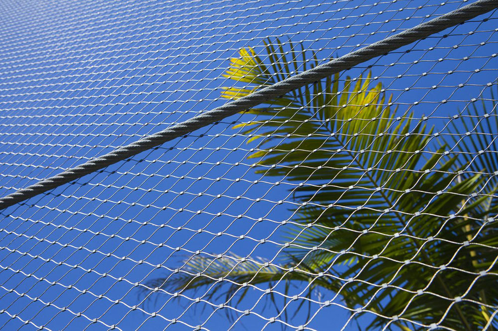 stainless steel aviary mesh netting