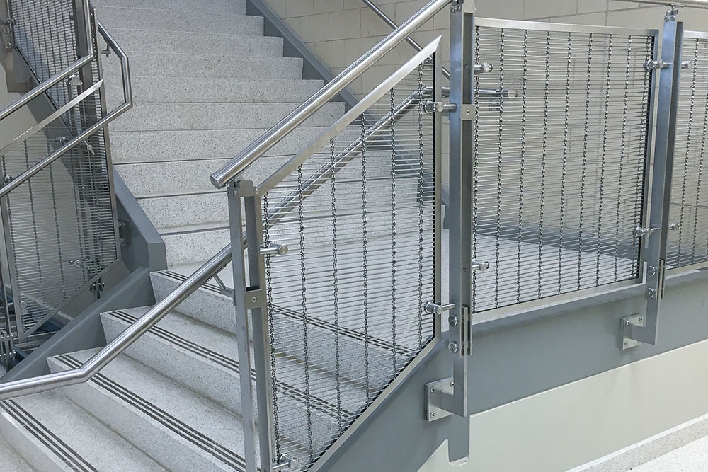 Stainless Steel Wire Mesh Railing Panels
