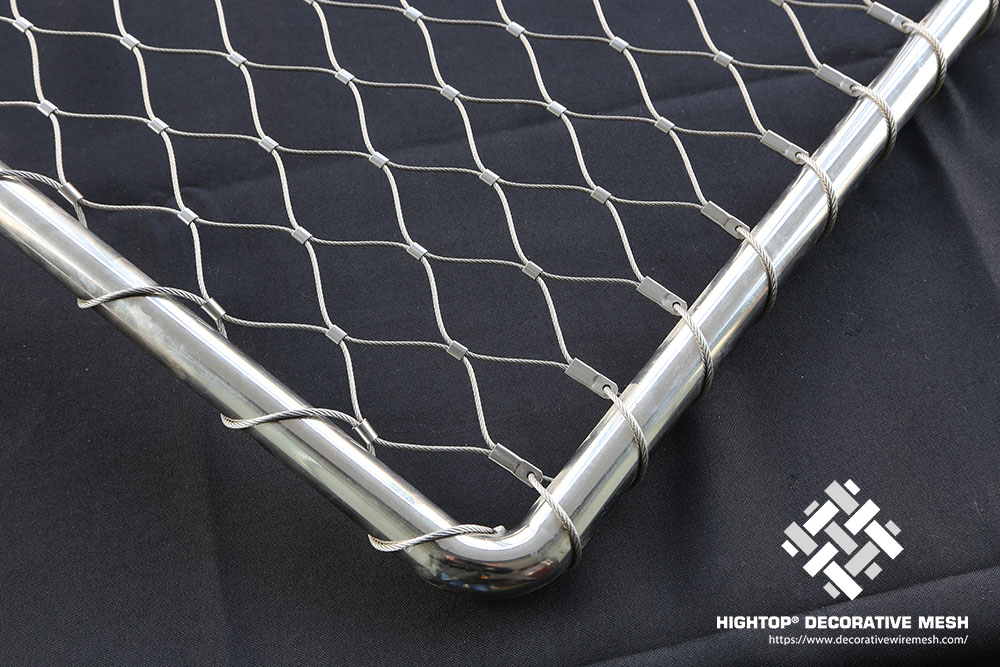 Stainless Steel Rope Mesh Netting