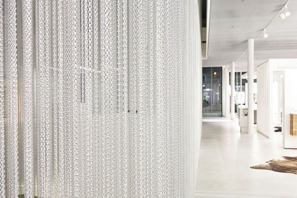 metal chain curtains