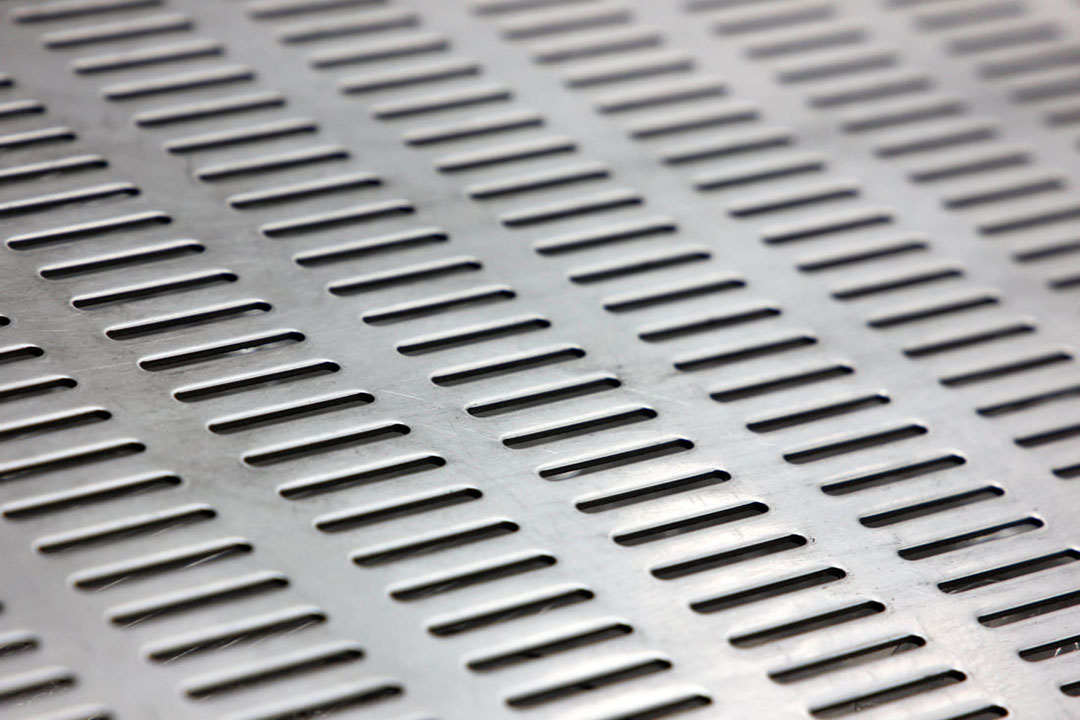 slotted perforated sheet metal
