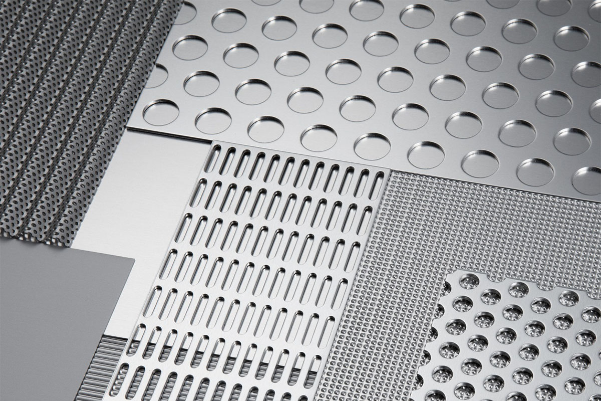 304 stainless steel perforated sheet metal mesh