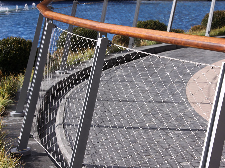 stainless steel rope net handrail
